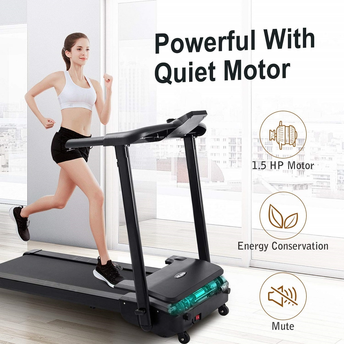 merax treadmill image