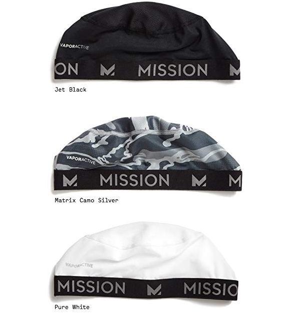 mission vapor active cooling skull cap image