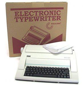 nakajima electronic typewriter image