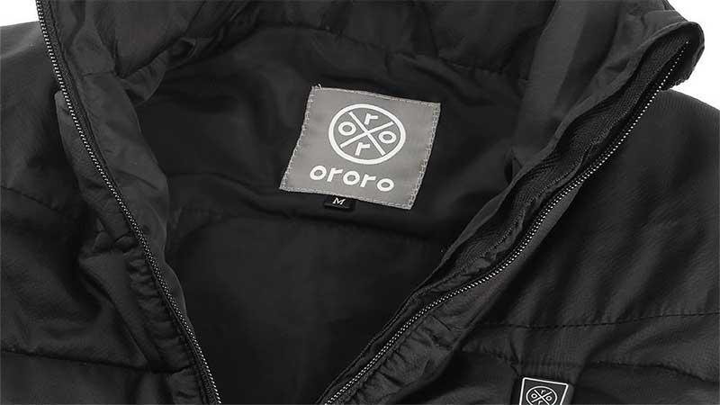 Ororo heated vest collar