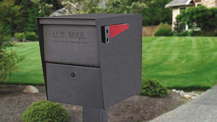 Package master security mailbox