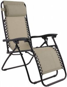 phi villa mesh fabric lounge chair image