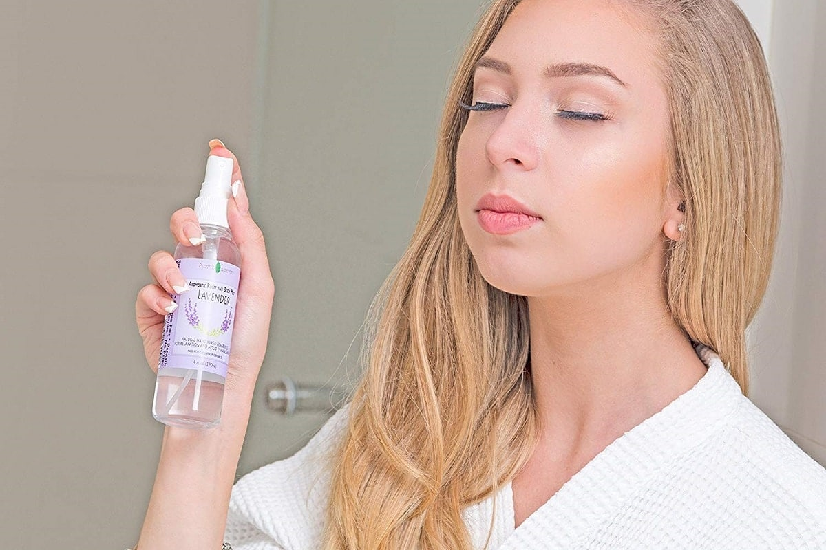 positive essence lavender room spray image