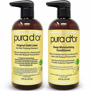 pura dor biotin shampoo conditioner set image