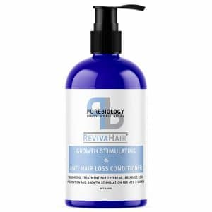 pure biology hair growth conditioner image