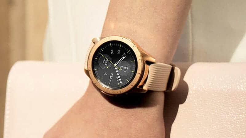 roe gold samsung galaxy smartwatch