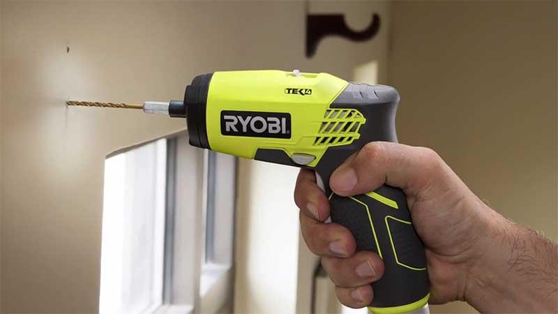 Ryobi 4V electric screwdriver
