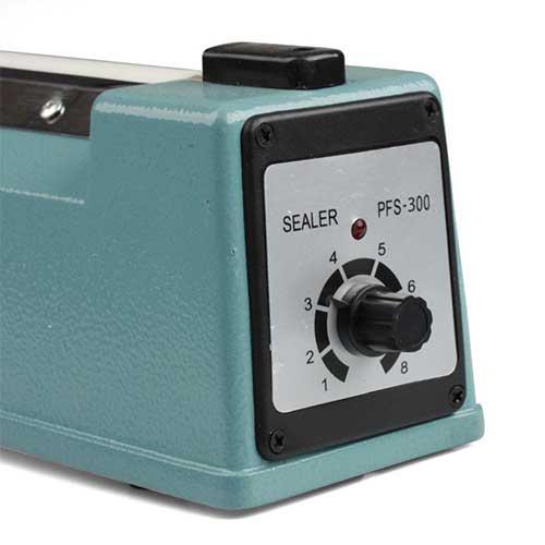 knob to regulate sealing power on a felxzion impulse sealing machine