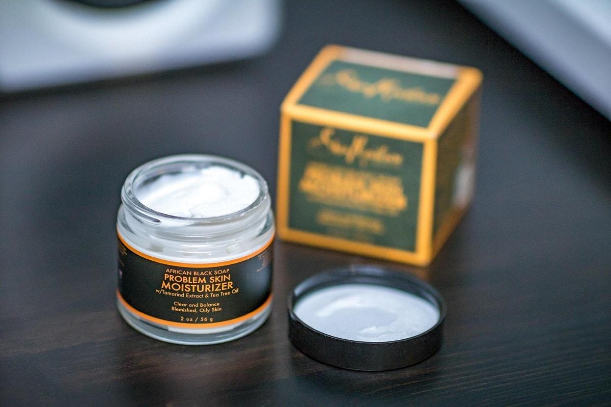 shea moisture african black soap moisturizer image