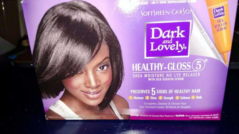 Softsheen dark and lovely retail packaging