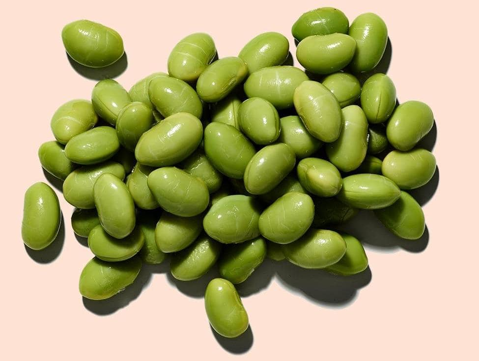 soy pods beans image