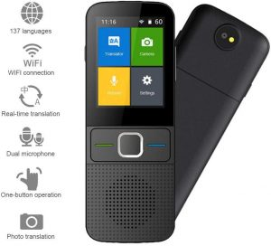 teepao smart language translator device image