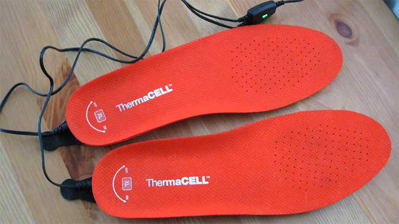 Thermacell ski boots warmer
