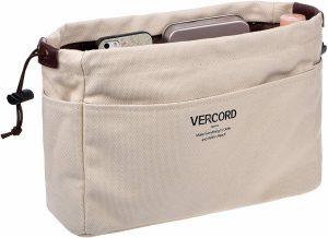 vercord canvas handbag organizers image