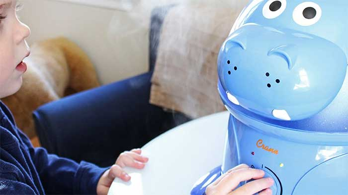 Violet the hippo kid humidifier