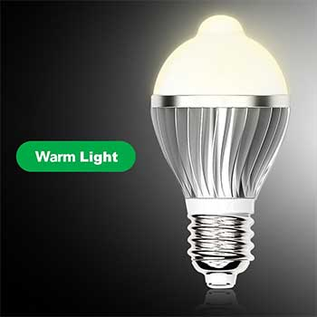 Warm light bulb