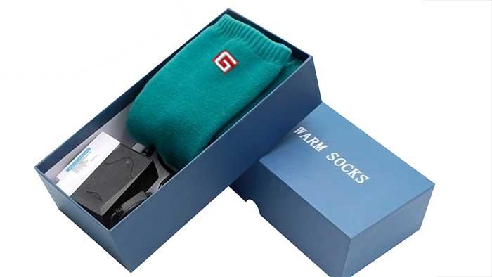 Warm socks retail package