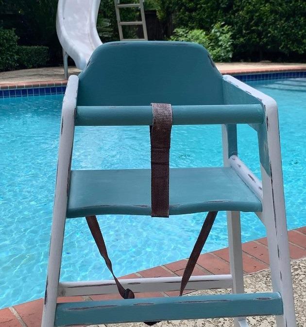 winco chh 103 high chair image