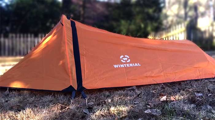 Winterial 3 Seasons Orange tent