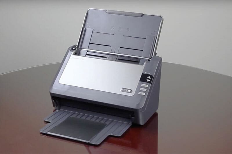xerox scanner on a table